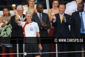 "Alexandra Popp named ""Player of the Tournament"" at the FIFA U20 Women's World Cup 2010"