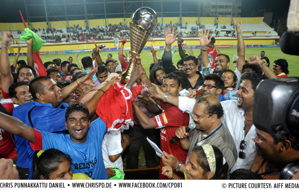 Churchill Brothers SC crowned I-League champions 2012/13 - www.chrispd.de