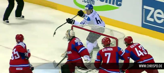 Granlund stuns Russia with an amazing goal