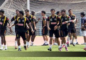 East Bengal Club training