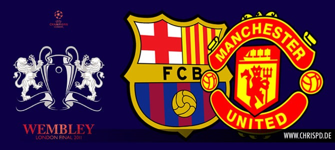 UEFA Champions League Final 2011 - Barcelona vs Man Utd