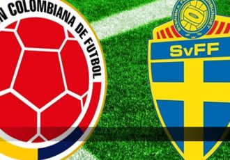 Colombia vs Sweden