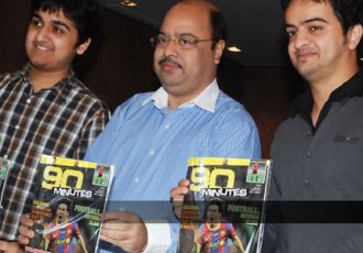 """90 Minutes"" launch - Atishay Agarwar, Subrata Dutta and Venkatesha Sharma"