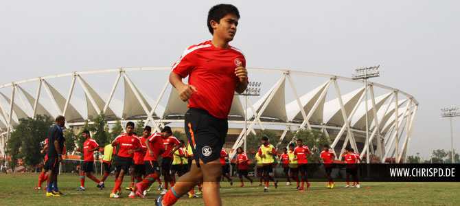Sunil Chhetri & Team India