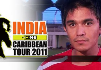 +ONE India Caribbean Tour 2011 - Sunil Chhetri