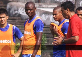 Mohun Bagan AC training session