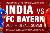 India vs FC Bayern München – Audi Football Summit