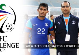 Team India - Syed Rahim Nabi, Savio Medeira and Sunil Chhetri