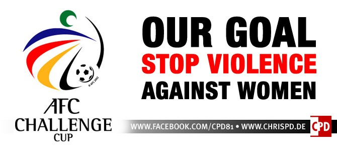 AFC Challenge Cup | Our goal: Stop Violence Against Women