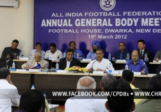 AIFF Annual General Body Meeting 2012