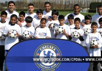 Chelsea FC Foundation's Asian Star