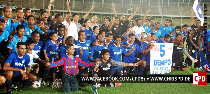 Dempo SC - I-League 2011/12 Champions