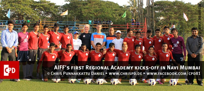 AIFF's first Regional Academy kicks-off in Navi Mumbai