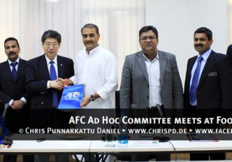 AFC Ad Hoc Committee meets at Football House