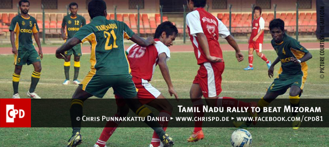 Tamil Nadu rally to beat Mizoram