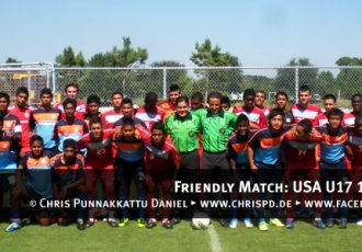Friendly Match: USA U17 1-0 India U16