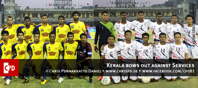 Santosh Trophy: Kerala vs Services