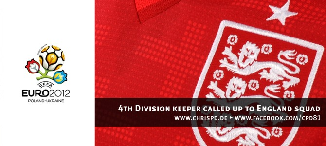 4th Division keeper called up to England squad