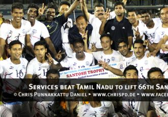 Services beat Tamil Nadu to lift 66th Santosh Trophy