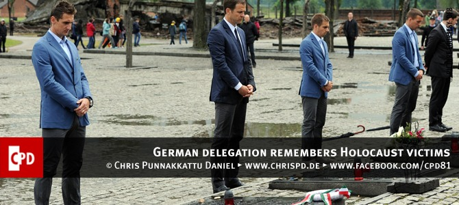 German delegation remembers Holocaust victims