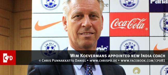Wim Koevermans appointed new India coach