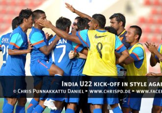 India U22 kick-off in style against Lebanon
