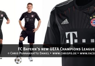 FC Bayern's new UEFA Champions League kit unveiled