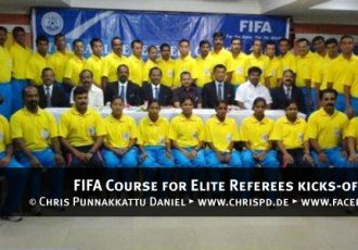 FIFA Course for Elite Referees kicks-off in Madurai