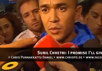 Sunil Chhetri: I promise I'll give everything
