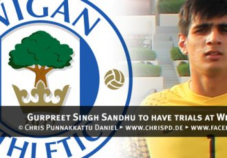 Gurpreet Singh Sandhu to have trials at Wigan Athletic