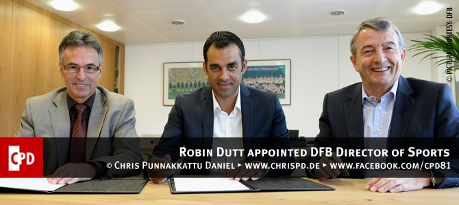 Robin Dutt appointed DFB Director of Sports