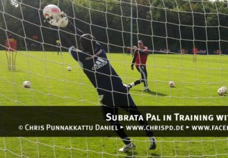 Subrata Pal in Training with RB Leipzig