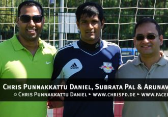 Chris Punnakkattu Daniel, Subrata Pal and Arunava Chaudhuri