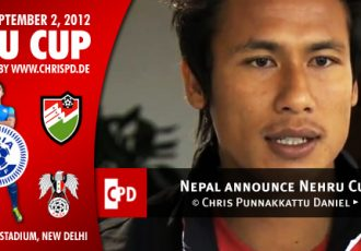 Nepal announce Nehru Cup probables