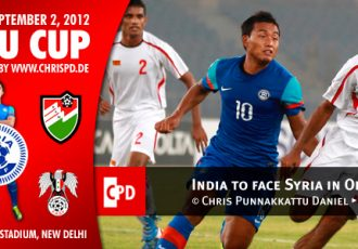 India to face Syria in Opening Match