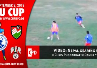 VIDEO: Nepal gearing up for the Nehru Cup
