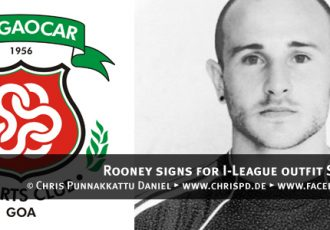 Rooney signs for I-League outfit Salgaocar SC
