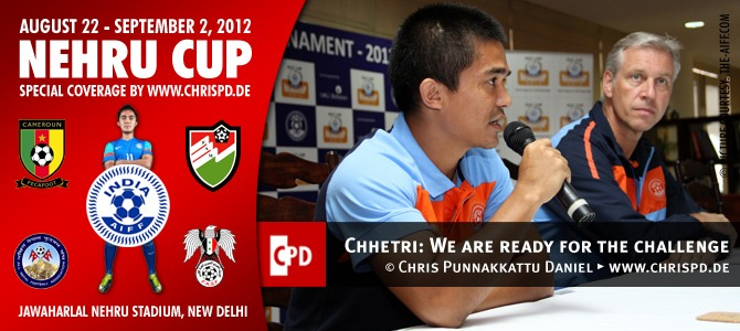 Chhetri: We are ready for the challenge