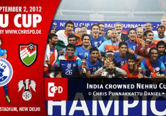 India crowned 2012 Nehru Cup Champions