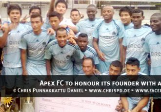 Apex FC to honour its founder with a tournament