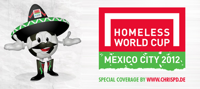 Homeless World Cup - Mexico City 2012