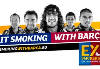 Quit Smoking with Barça