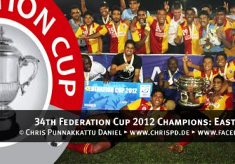 34th Federation Cup 2012 Champions: East Bengal Club