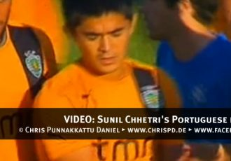 VIDEO: Sunil Chhetri's Portuguese league debut