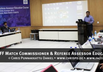 AIFF Match Commissioner & Referee Assessor Education Course