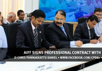 AIFF signs professional contract with FIFA Referees