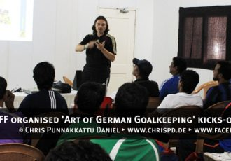 AIFF organised 'Art of German Goalkeeping' kicks-off in Mumbai