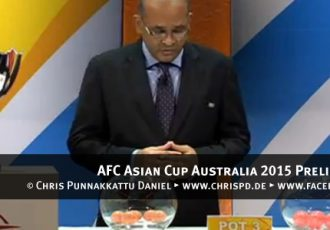 AFC Asian Cup Australia 2015 Preliminary Draw