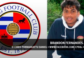 Brandon Fernandes at Reading FC