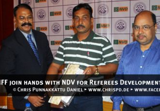 AIFF join hands with NDV for Referees Development Programme